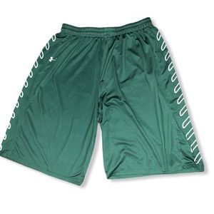 Under Armour  athletic basketball shorts men's XL